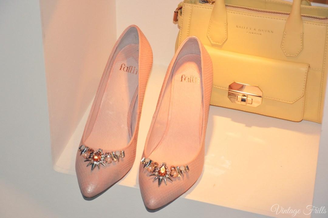 Debenhams SS15 Faith Jewelled Court Shoes
