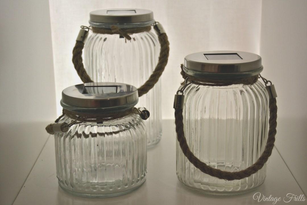Next Summer 15 Press Day Glass Jars with Garden Twine