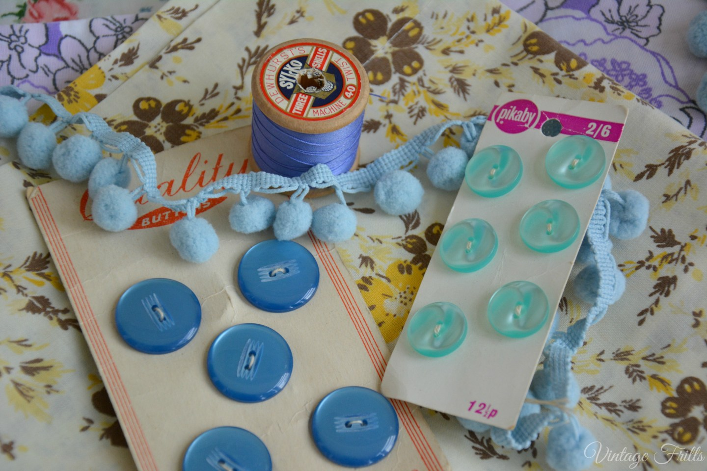 Vintage Buttons and Threads