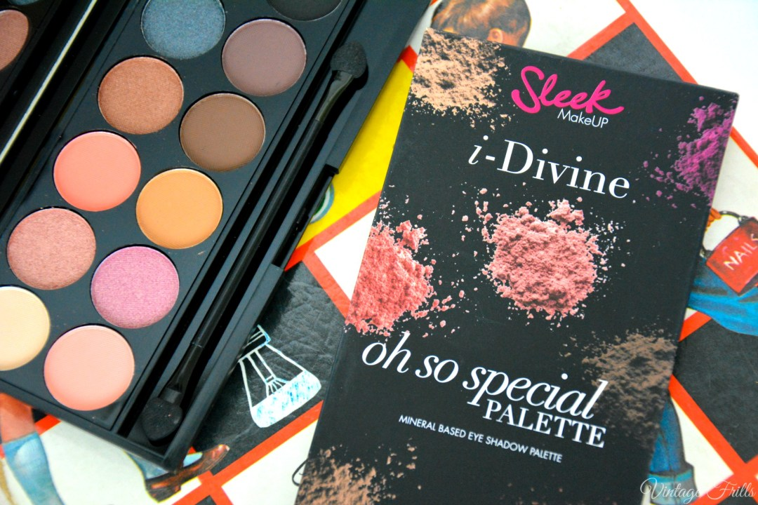 Boots Haul Sleek i-Divine Oh So Special Palette
