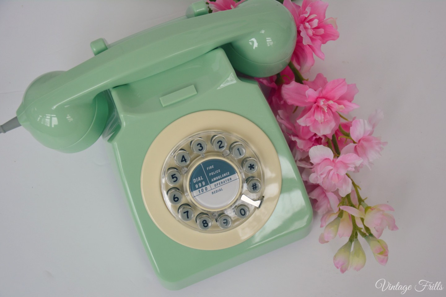 Flamingo Gifts Green 1960s Phone