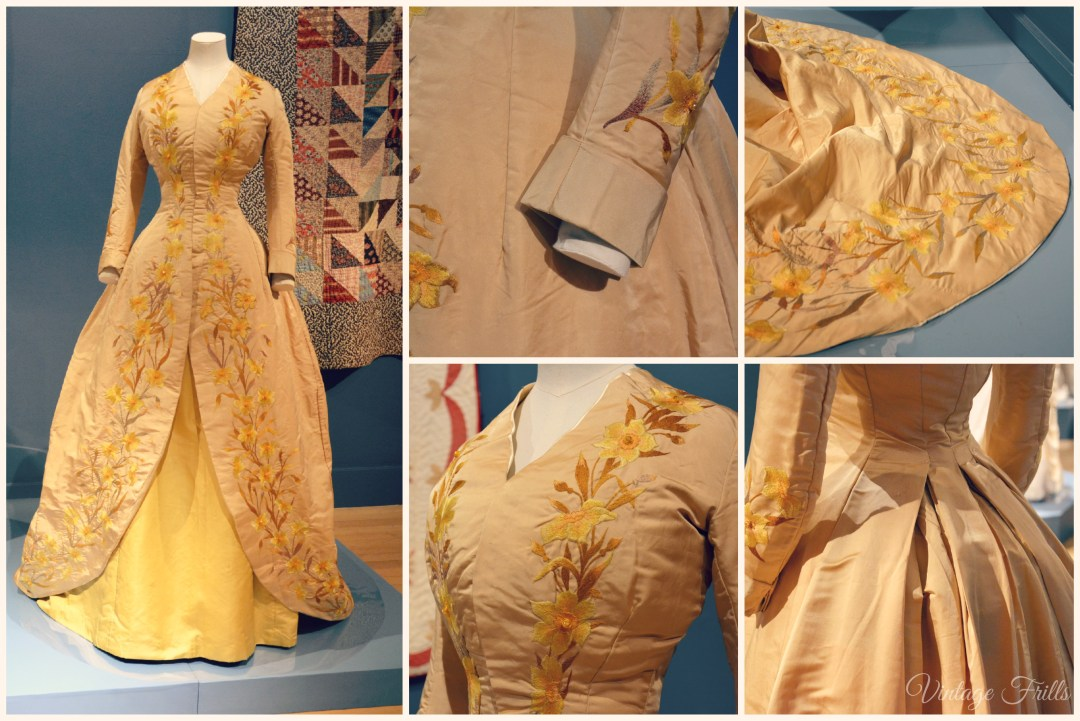 Hatched Matched Dispatched Patched Daffodil Dress