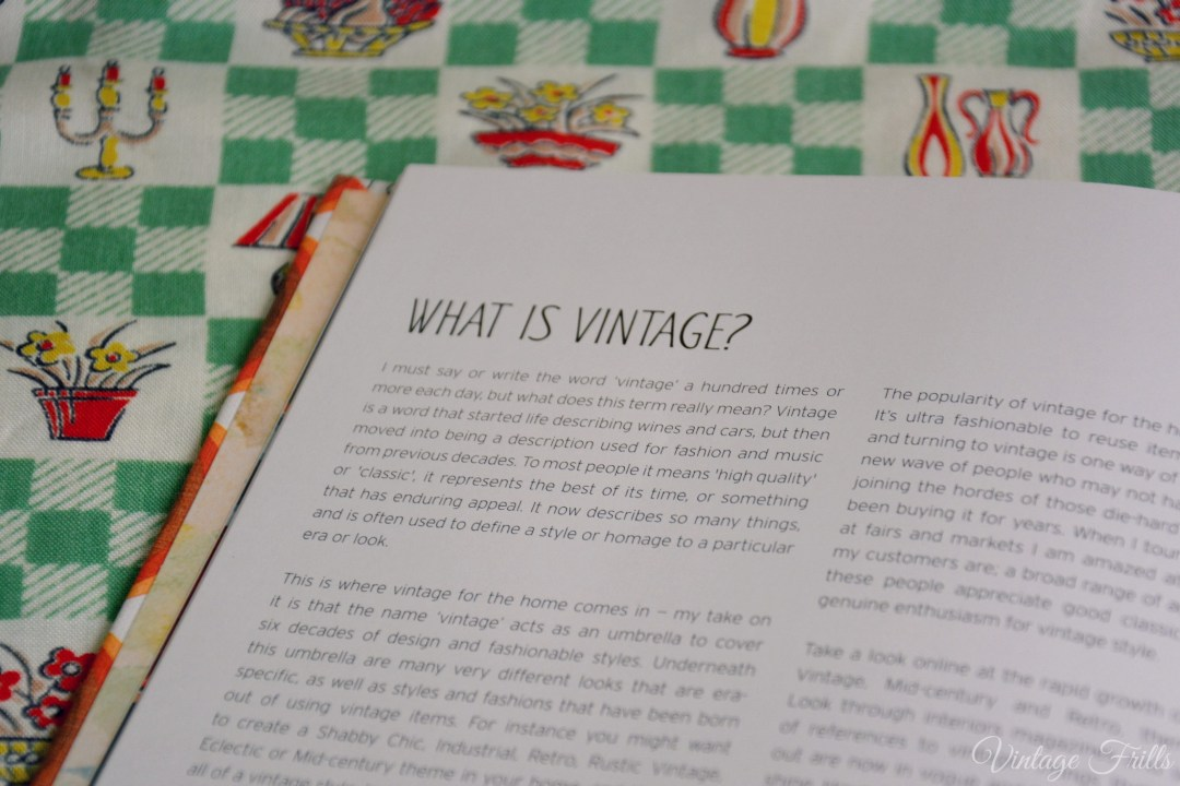 Style Me Vintage Home What is Vintage