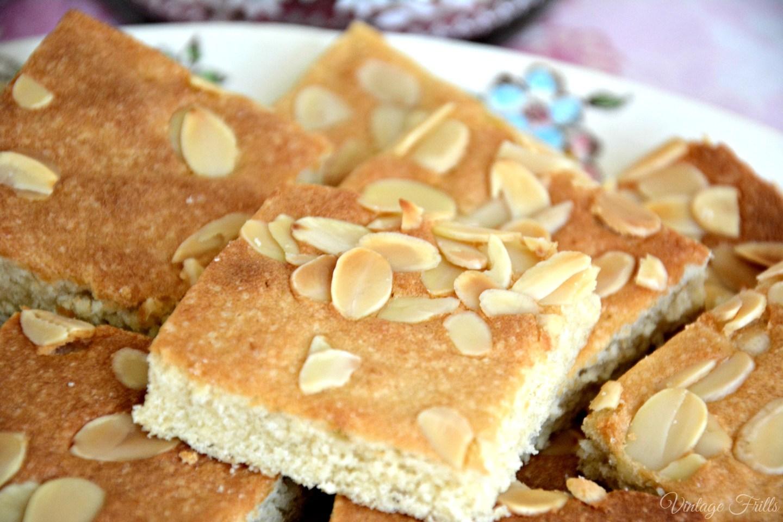 Vintage Almond Cake Recipe