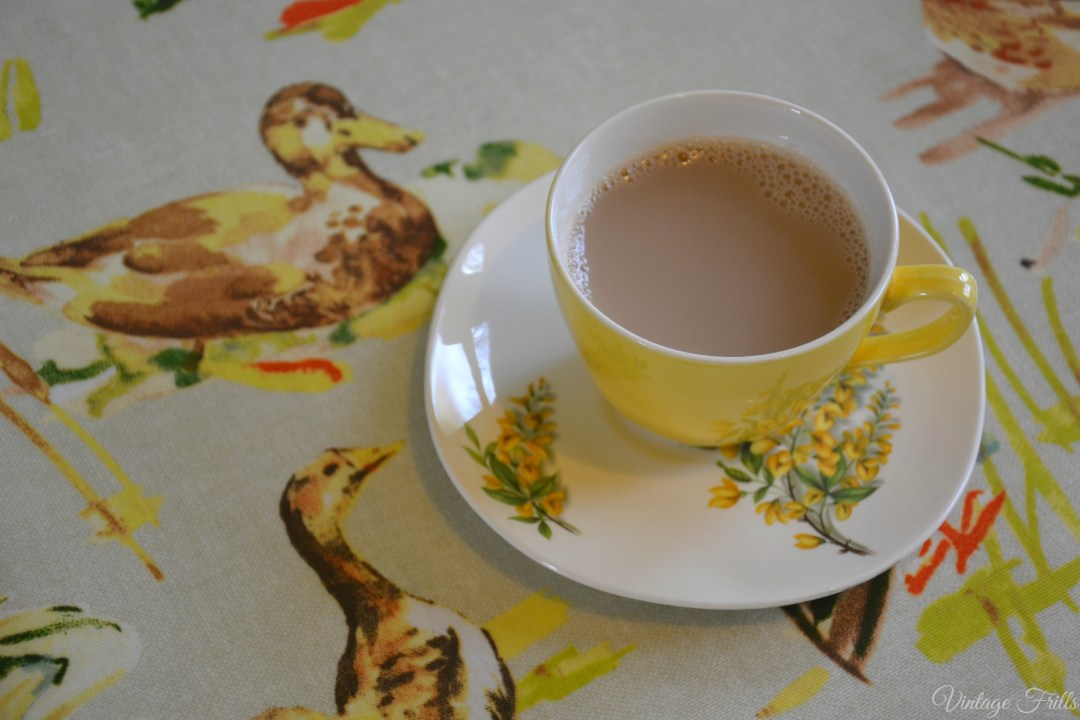 Meakin Yellow Teacup