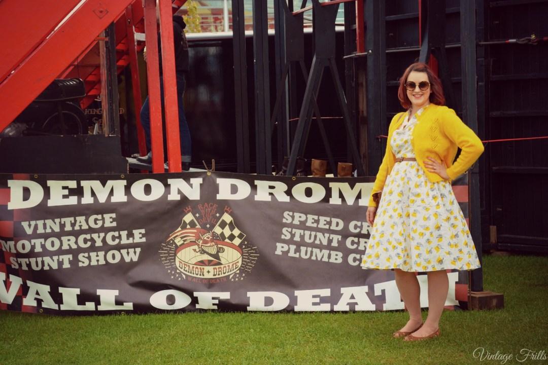 Atomic Festival Dress OOTD