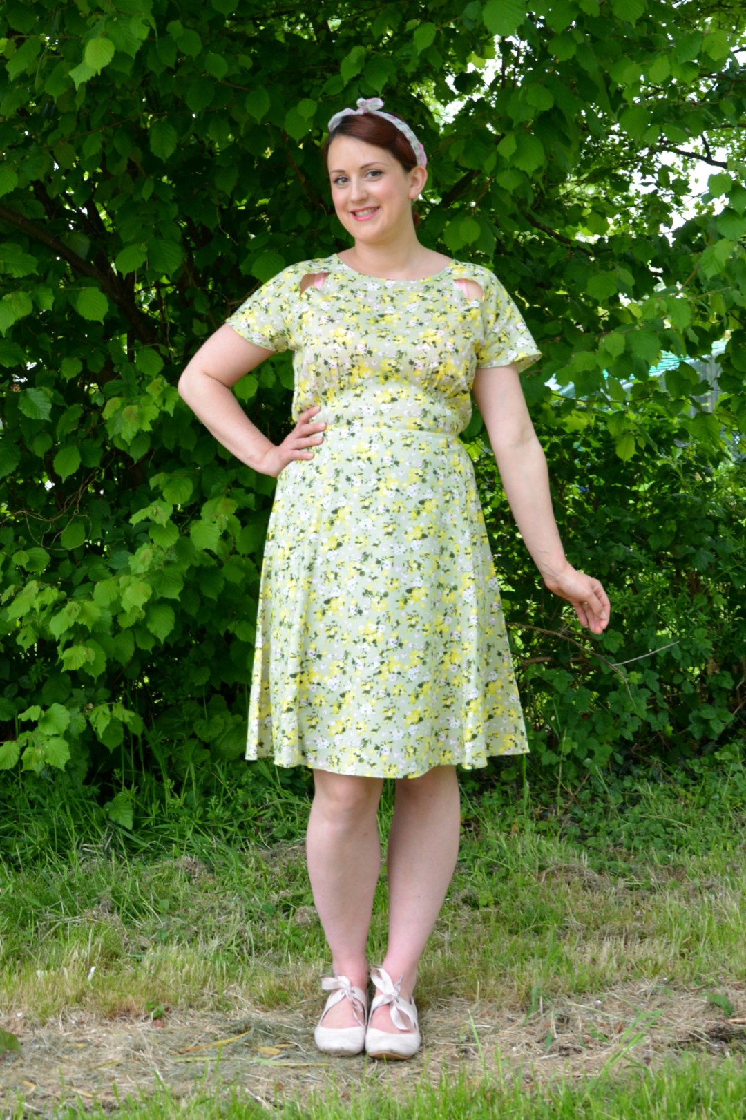 Peacocks 1940s Style Dress Review
