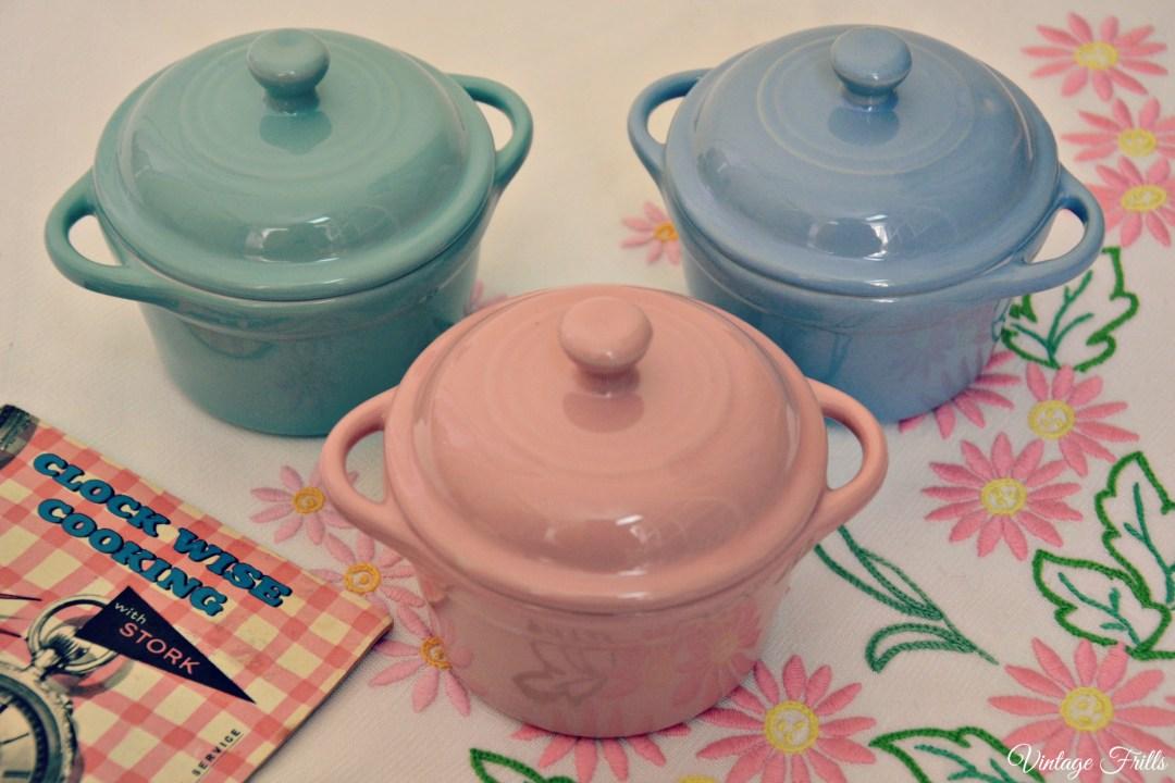 Poundland Pastel Pots