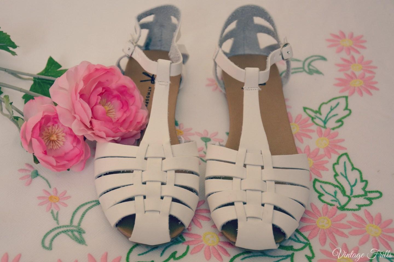 Primary White Sandals