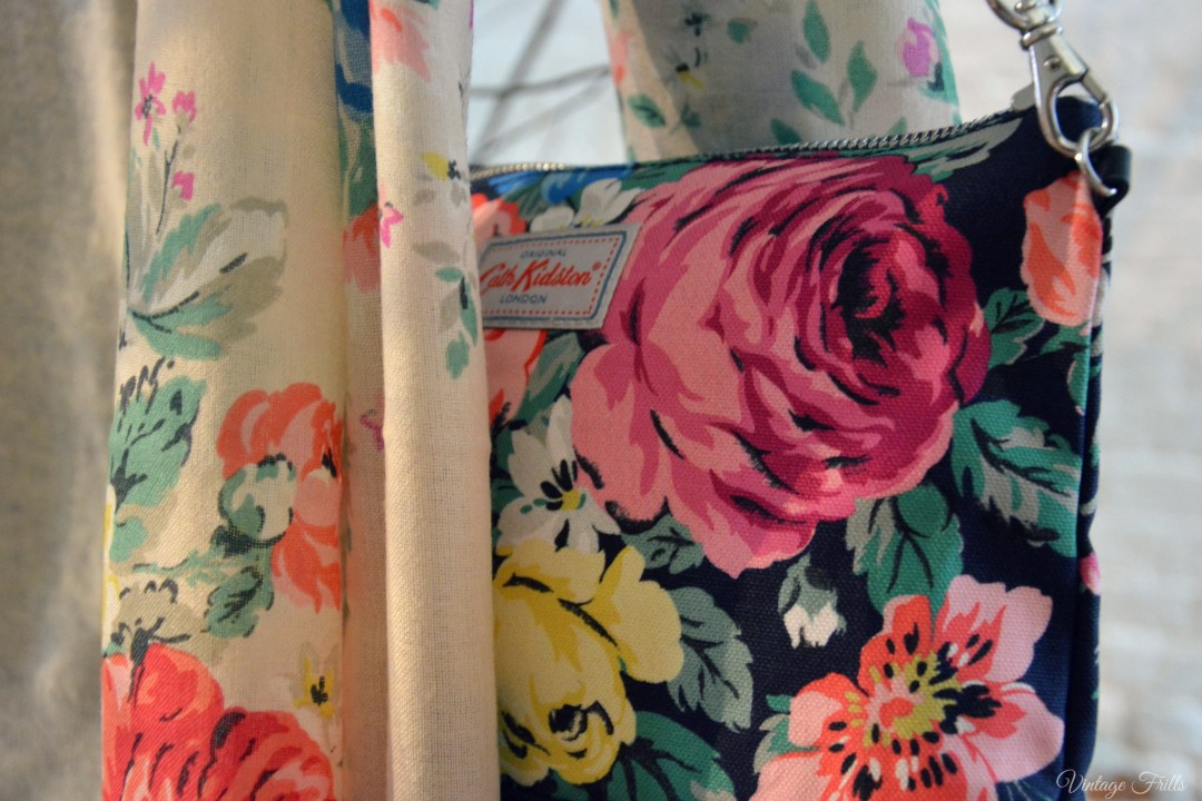 Cath Kidston AW15 Press Day - Floral Bag and Scarf