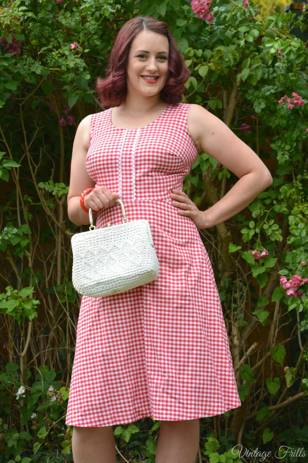 1960s Gingham Horrockses Dress