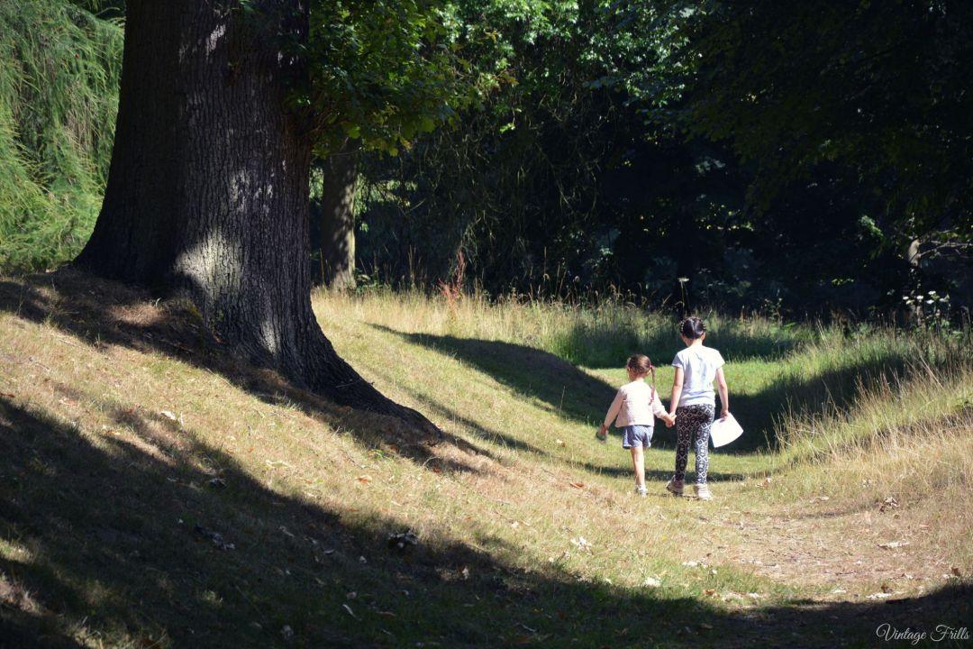 Claremont Landscape Garden Haha