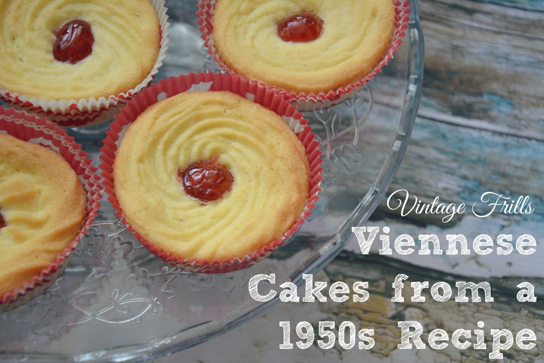 Viennese Cake from a 1950s Recipe  Vintage Frills