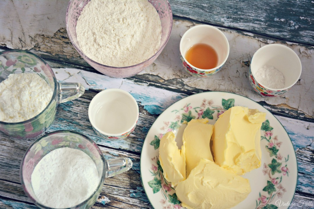 Viennese Cakes Ingredients