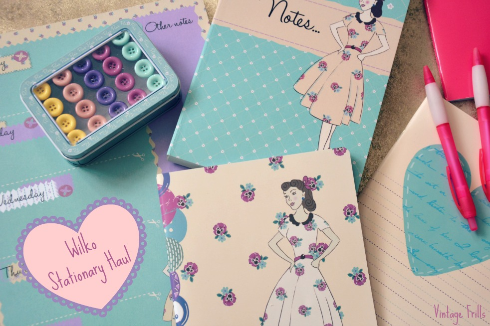 Wilkos Vintage Style Stationary Haul
