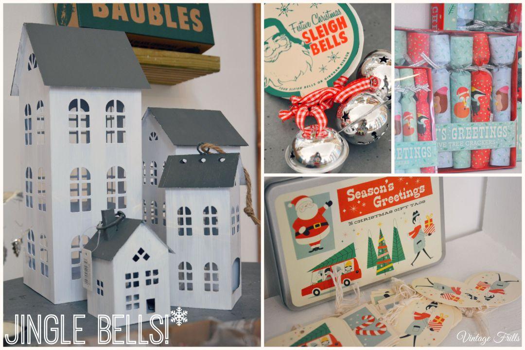 Christmas Decorations Dot Com Gift Shop  Vintage Frills