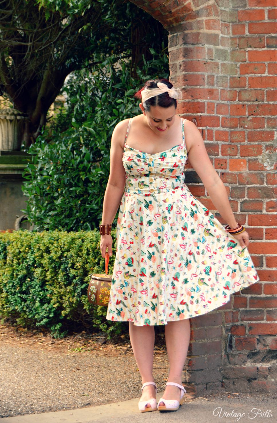 Collectif Flamingo Doll Dress Review