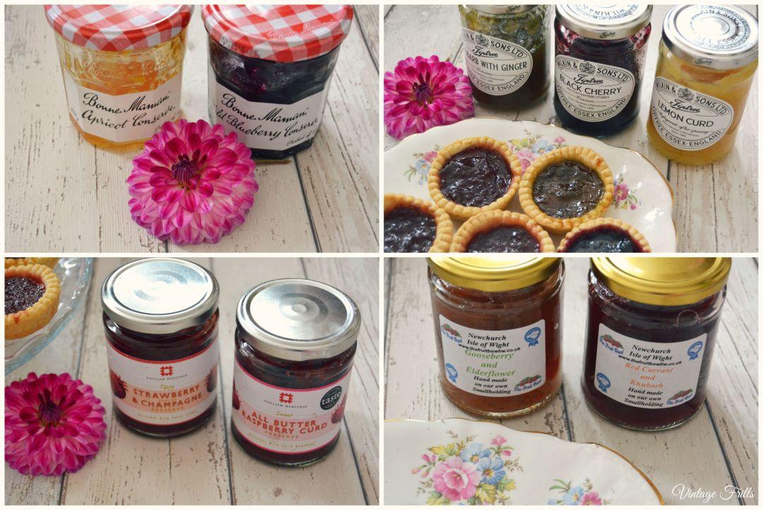 Flavoured Fruit Jams  Vintage Frills