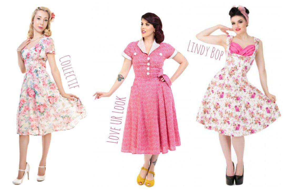 Vintage Reproduction Dresses Vintage Frills