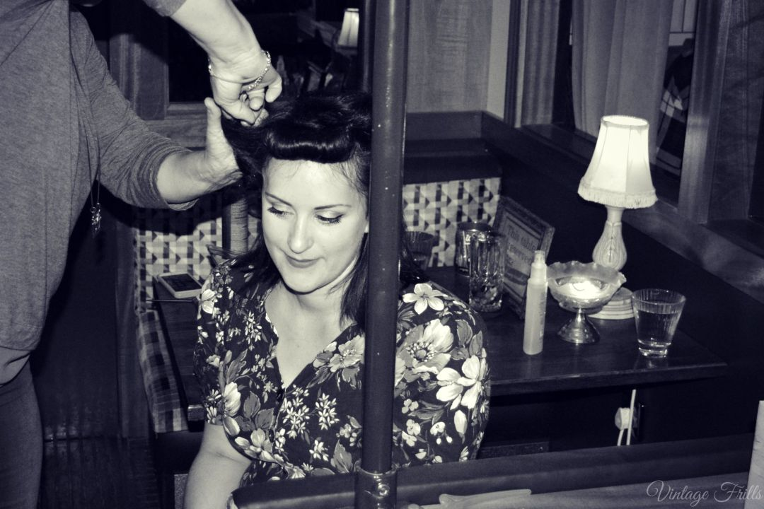 Cahoots Royal Night Out 1940s Hair