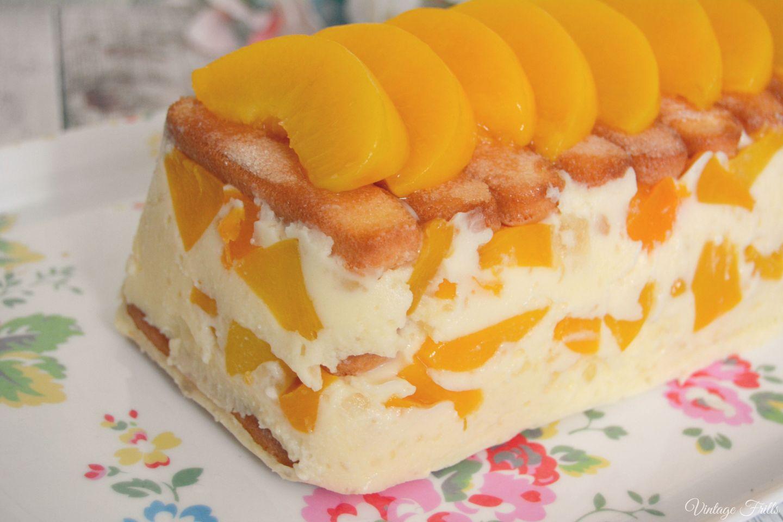Peach and Marshmallow Dessert Recipe