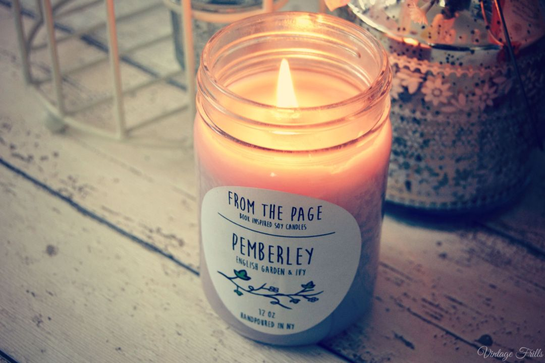 Pride and Prejudice Candle  From the page  Uncommon Goods  Vintage Frills