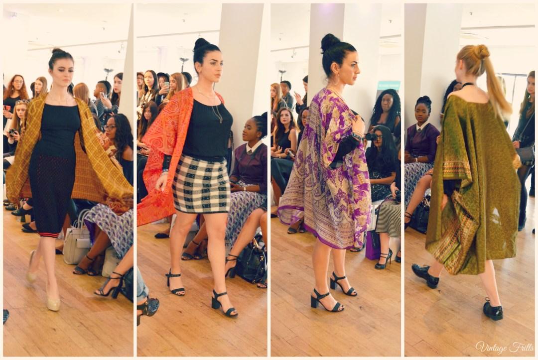 Bloggers London Fashion Weeks Julia Hearts U Kimonos Fashion Show