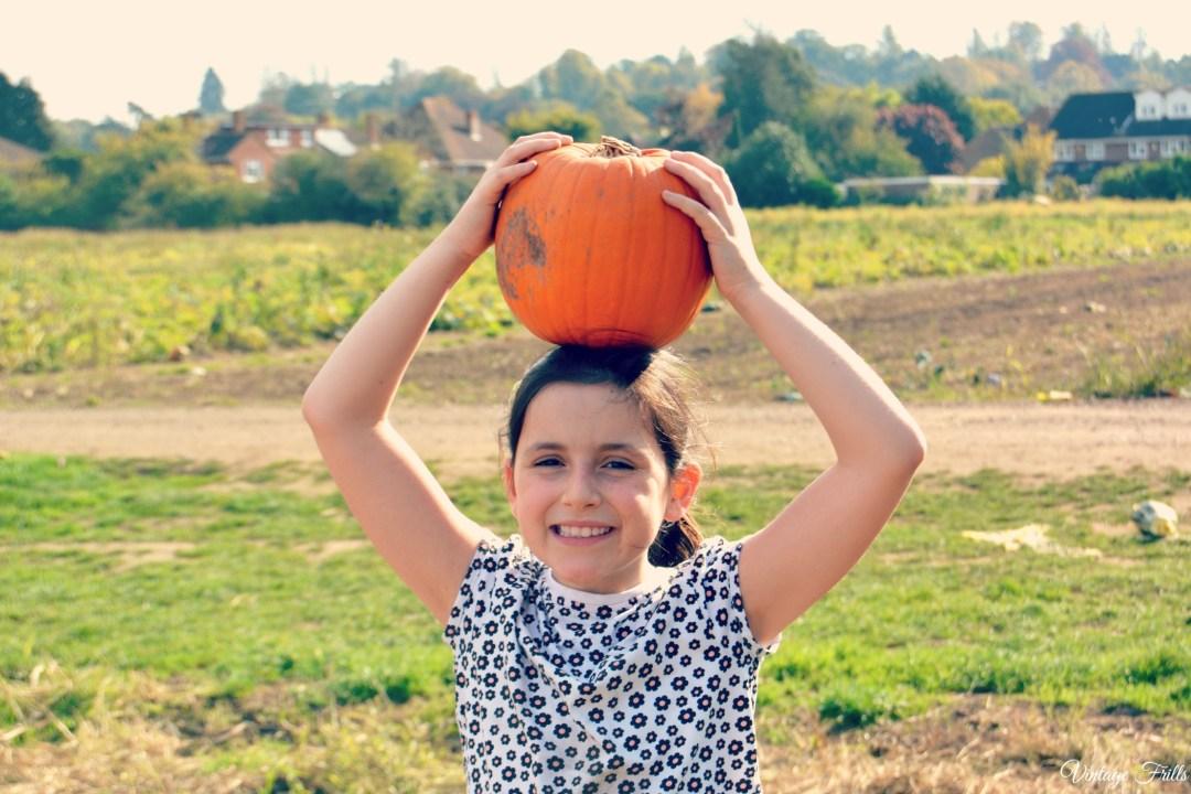 Pumpkin Picking Garsons Farm