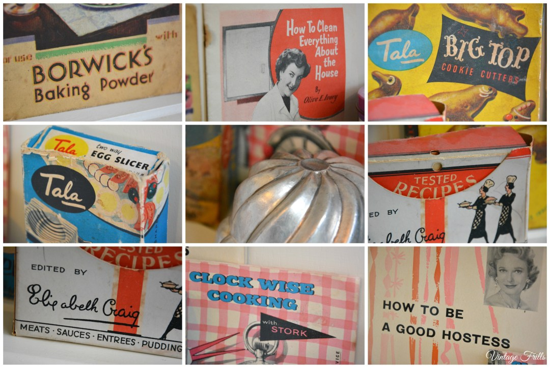 Vintage Kitchen Advertising