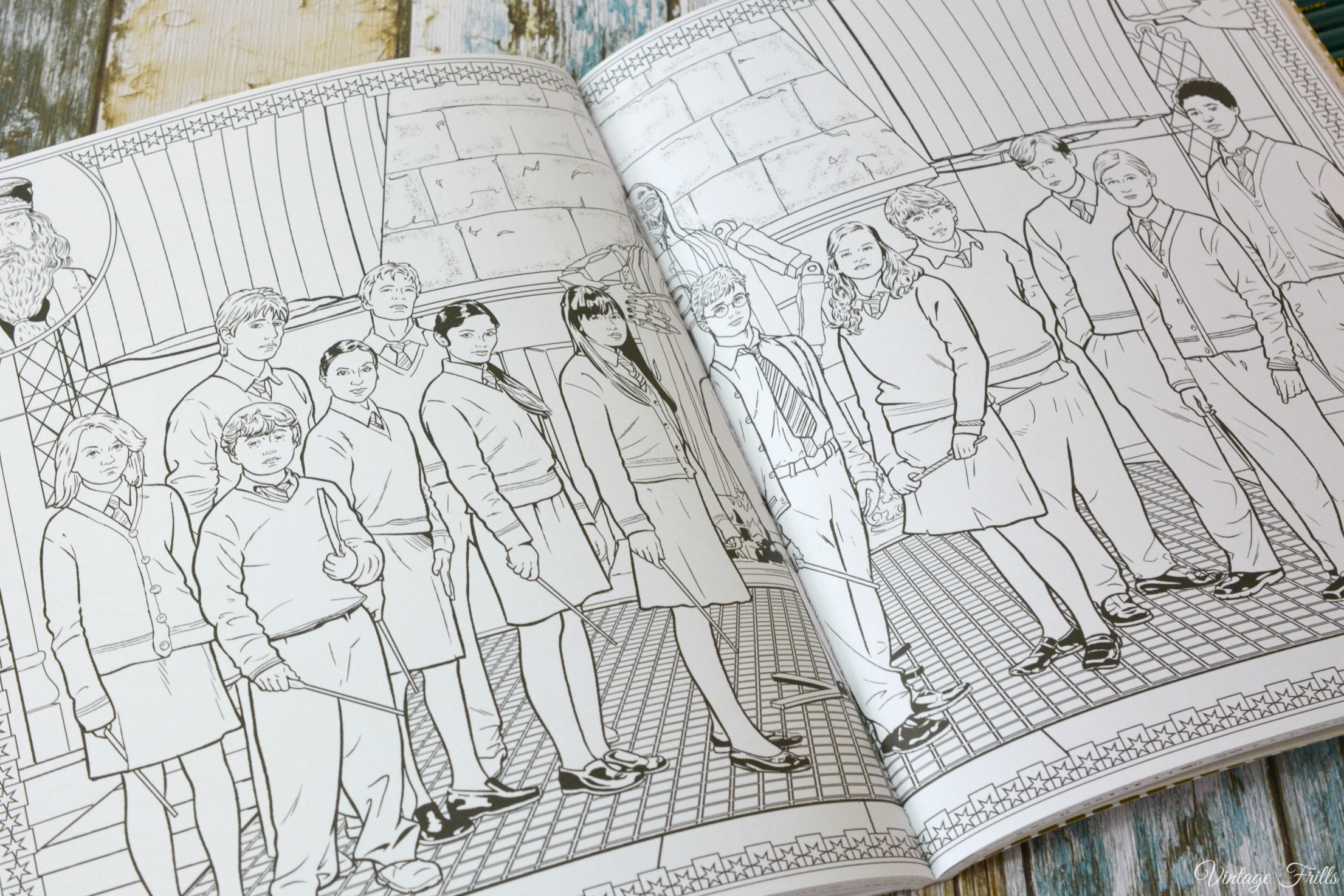 Harry Potter Colouring Book Dumbledores Army