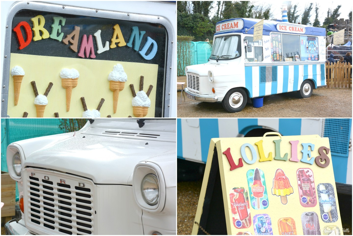 Dreamland Vintage Icecream Van