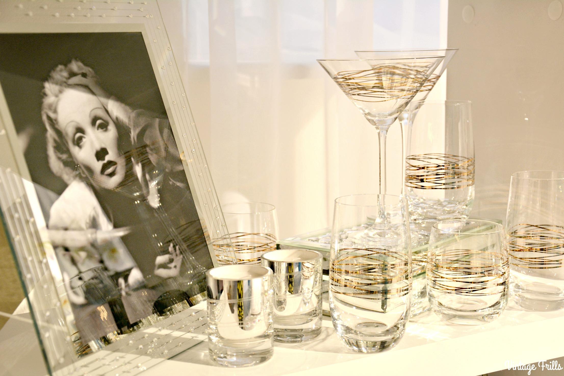 Home Inspiration - Old Hollywood Glamour • Vintage Frills