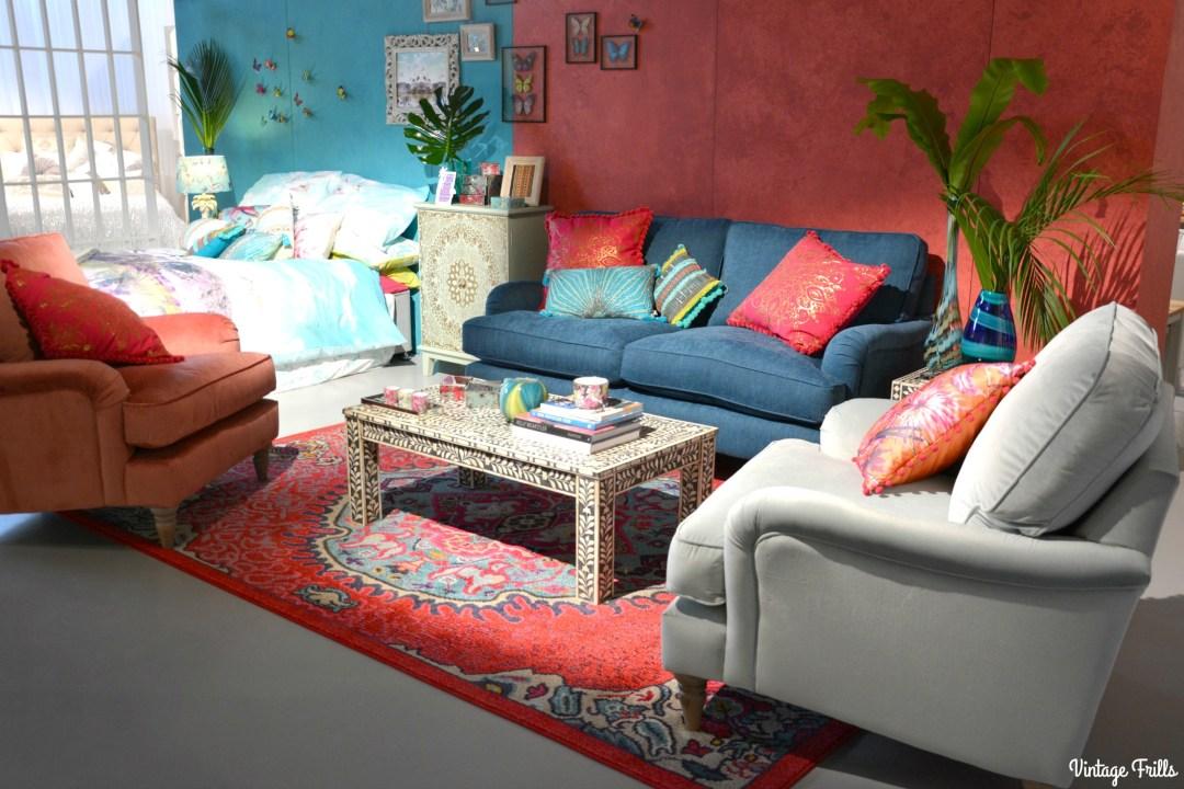 Exotic Tropical Inspired Living Room Debenhams