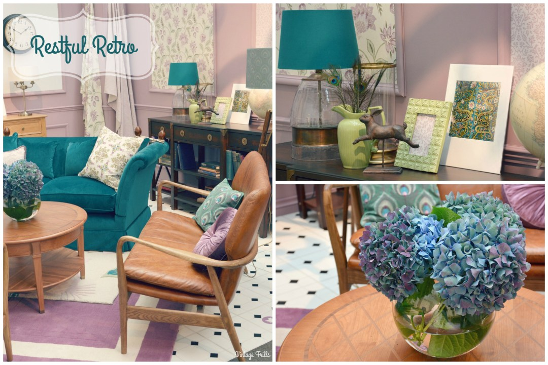 Laura Ashley Restful retro Interior