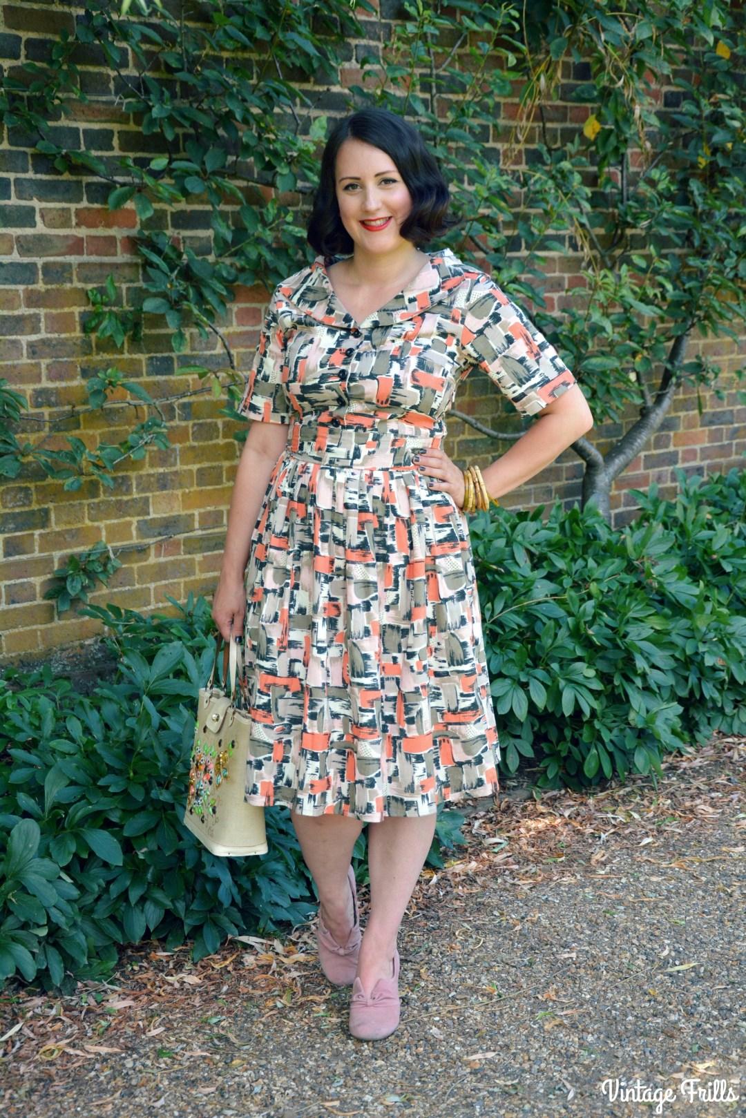 Love Ur Look 1950s Shirt Dress Review