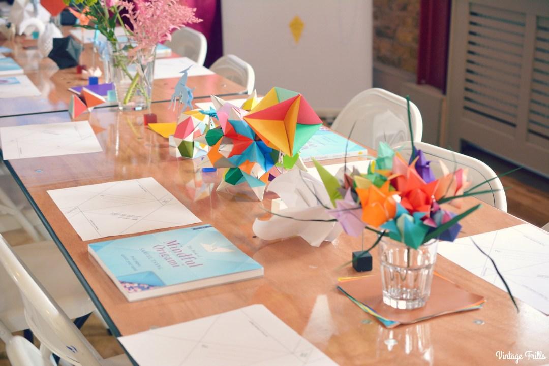 Viking Arty Party Oragami Table