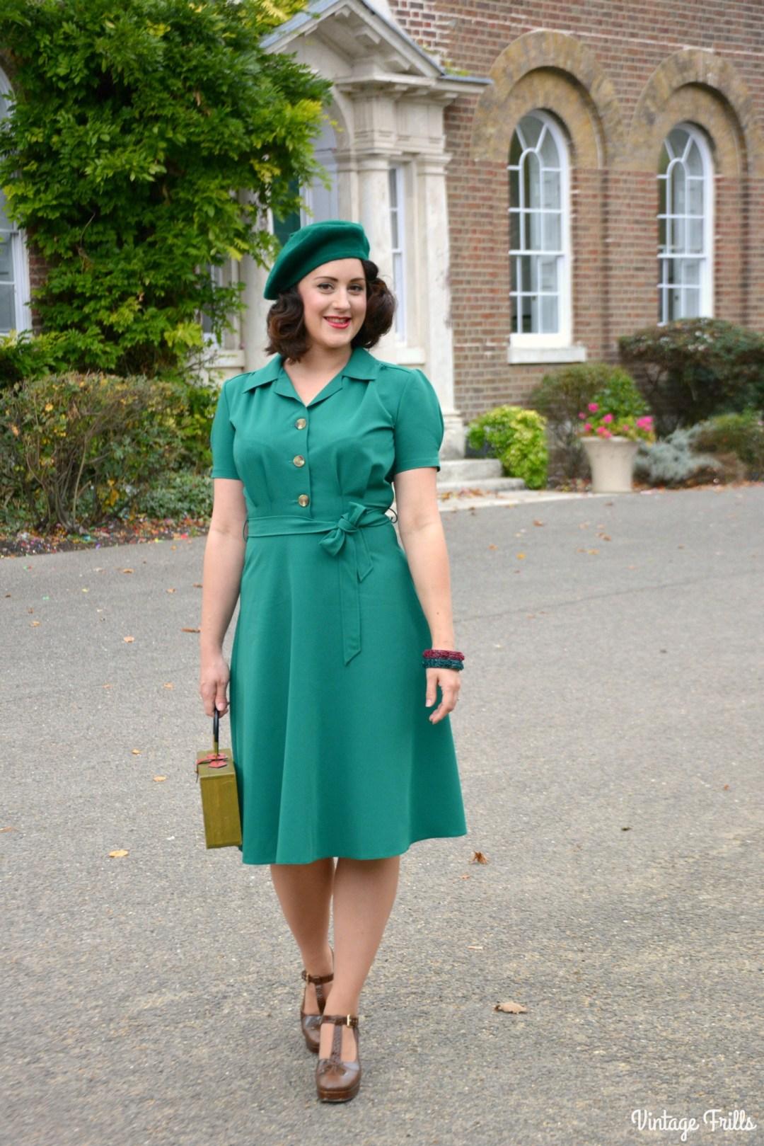pretty-retro-1940s-style-shirt-dress-review