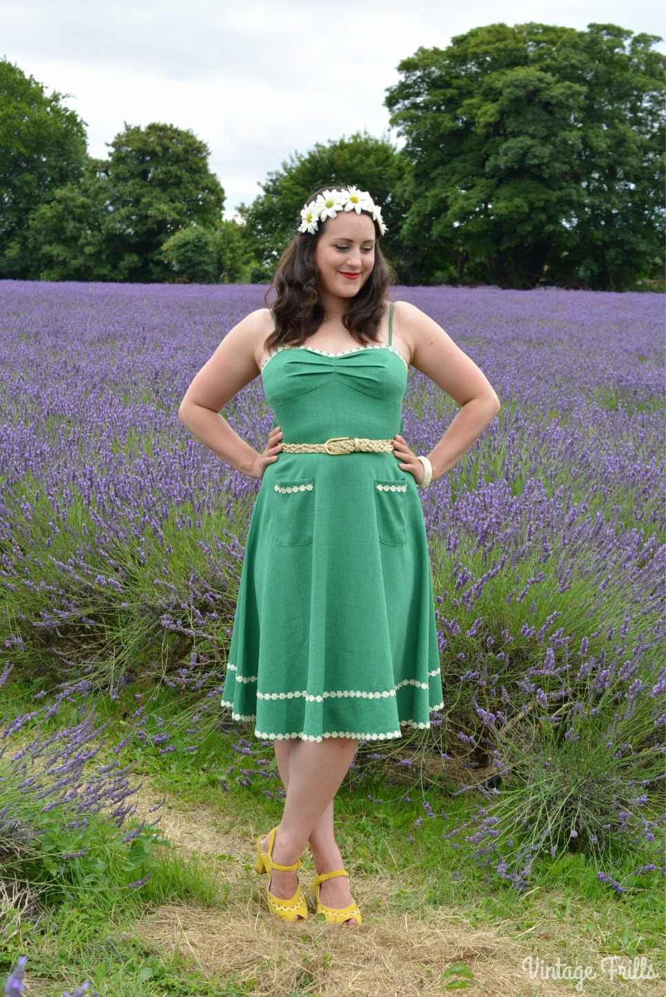 Daisies and Lavender – Voodoo Vixen Deliliah Dress Review