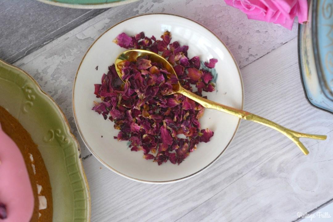 Rose Water Cake Recipe