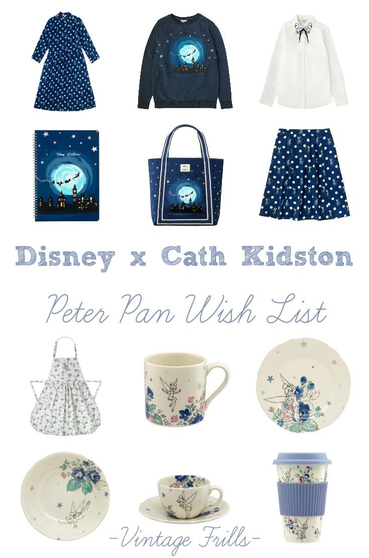 Disney x Cath Kidston Peter Pan Wishlist