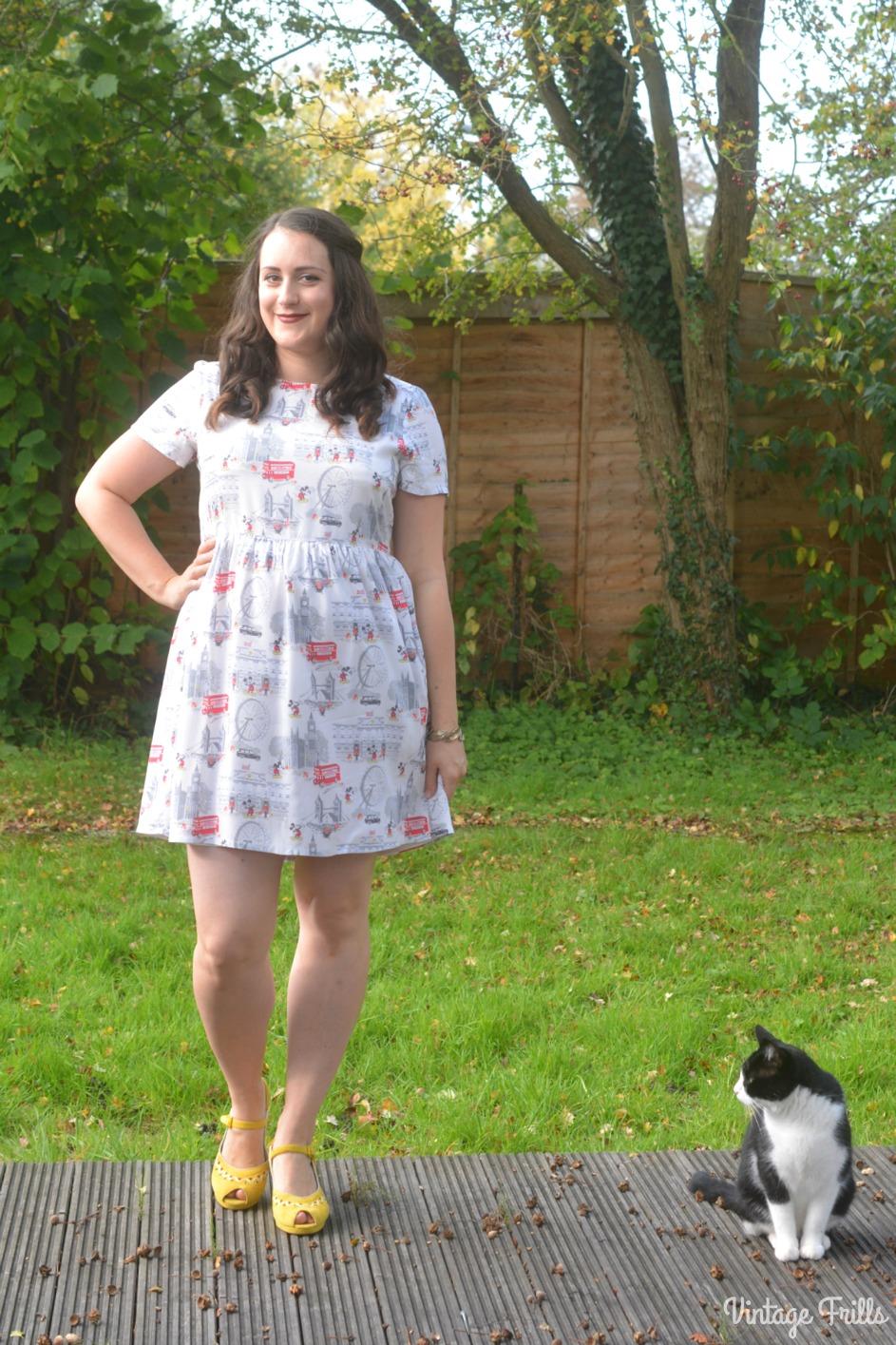 Disney x Cath Kidston Mickey in London Dress