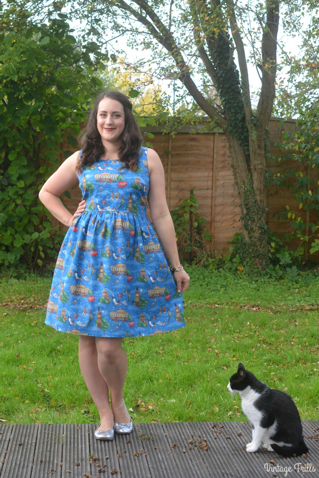 Disney x Cath Kidston Peter Pan London Dress