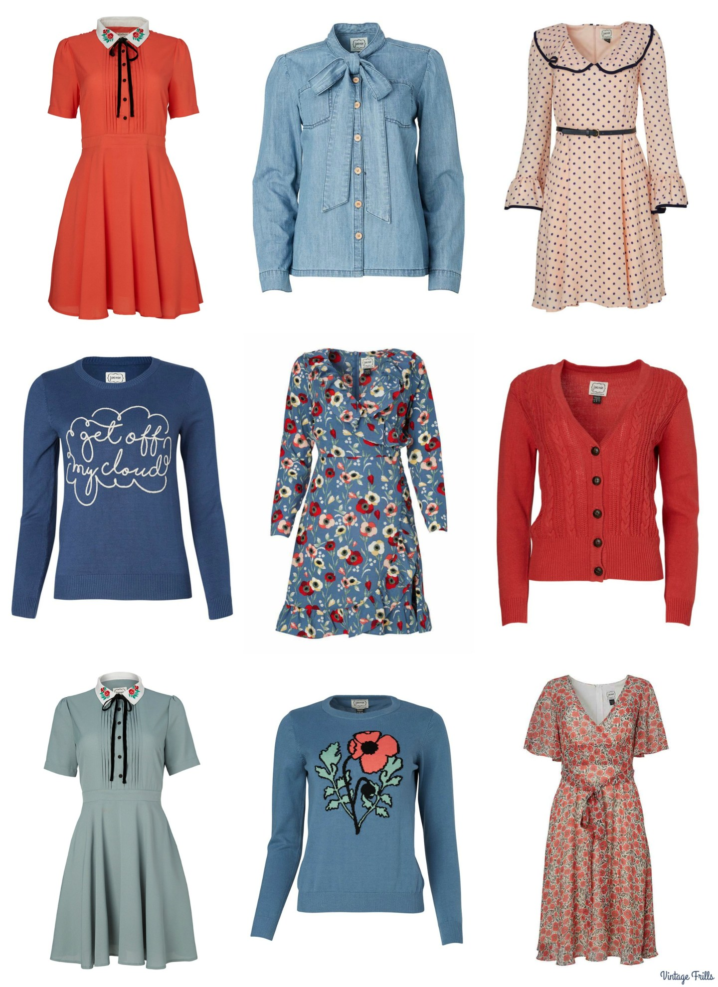 Joanie Clothing Autumn Wishlist