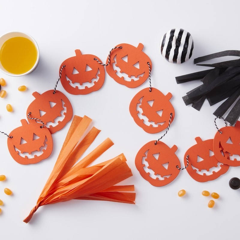 Etsy Halloween Decorations Pumpkin Garland