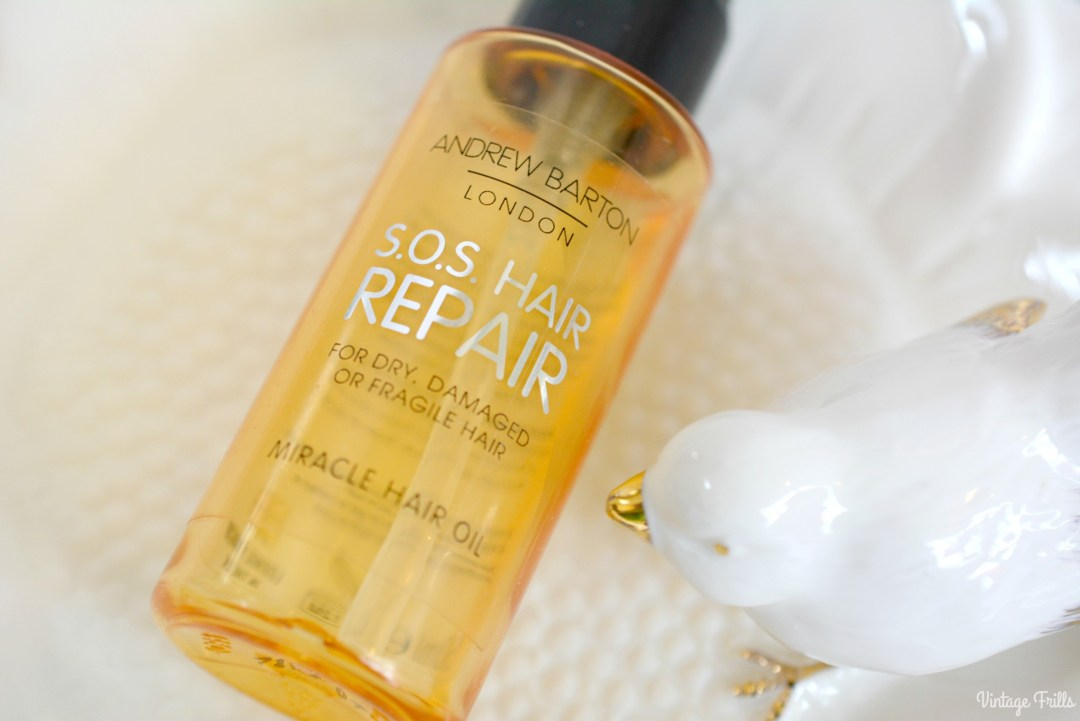 February 2018 Beauty Favourites | Asda Andrew Barton SOS Hair Repair