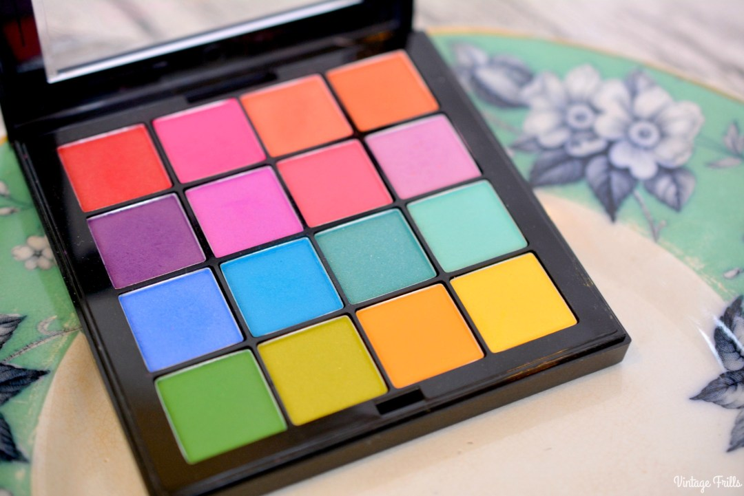 February 2018 Beauty Favourites | NYX Shadow Palette