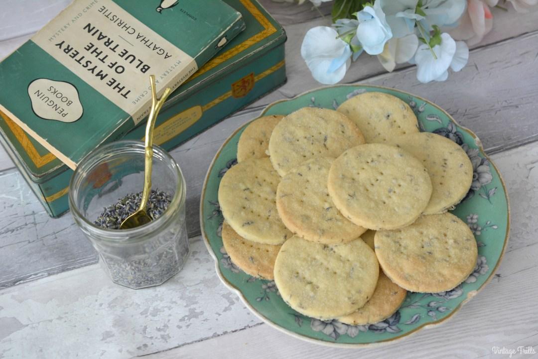 Lavender Shortbread Recipe