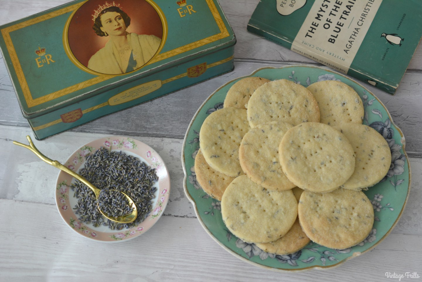Lavender Shortbread Recipe