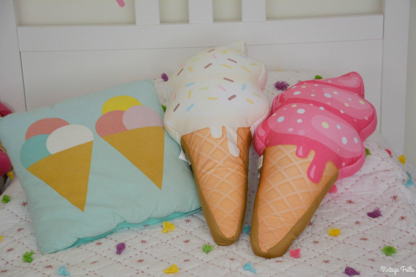 Ice Cream Theme Ice Cream Cushions