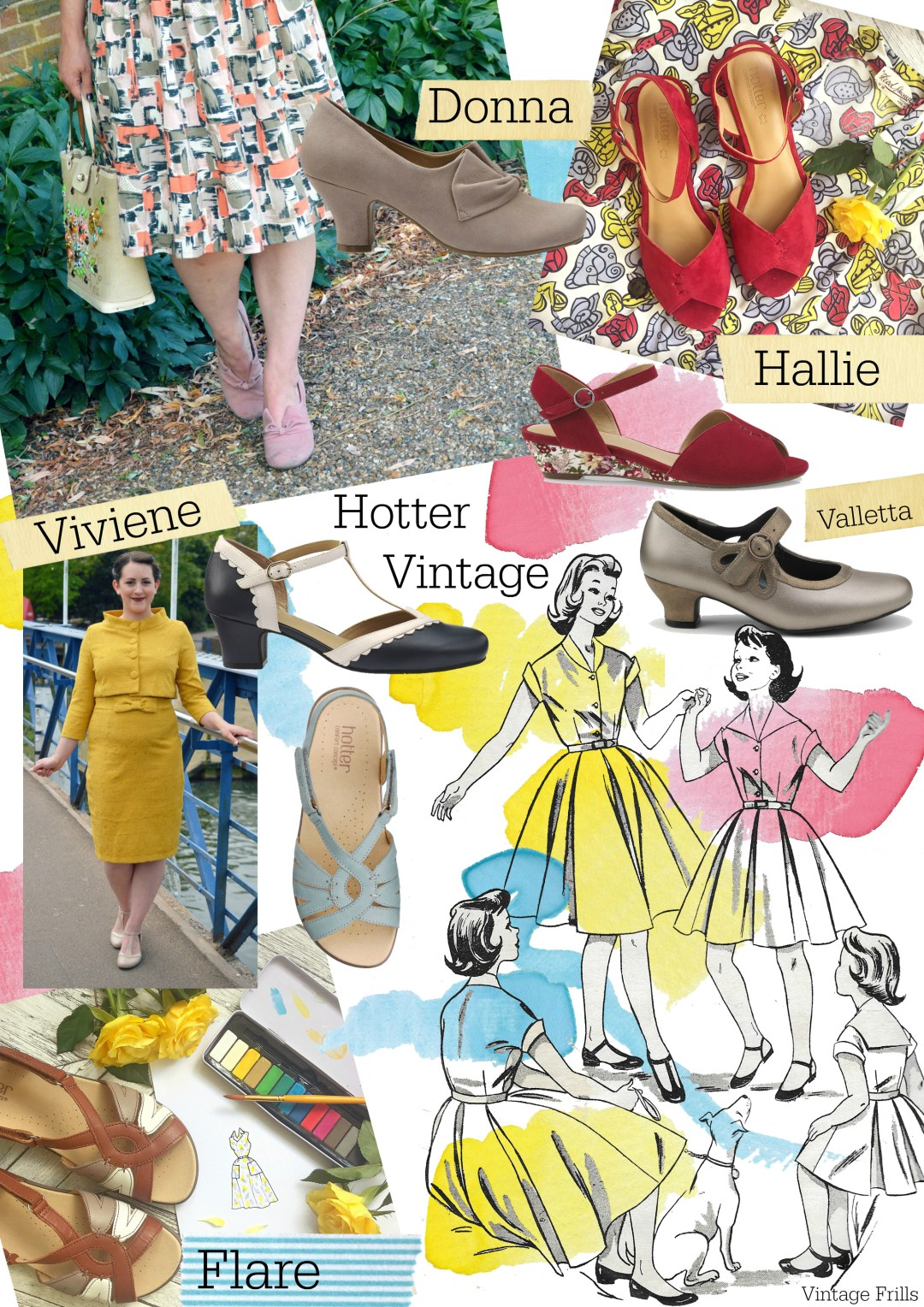 Vintage Style Shoes from Hotter Shoes